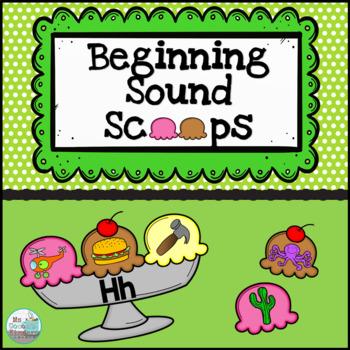 Beginning Sounds Match - Ice Cream