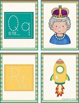 Alphabet Cards Match Up, Beginning Sounds Game
