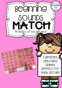 Beginning Sounds Match - all letters