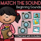 Beginning Sounds Matching Activities