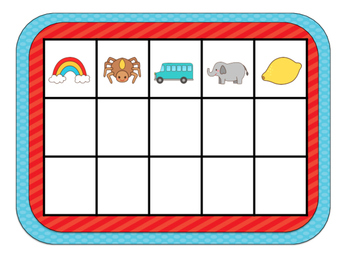 Beginning Sounds Matching Game
