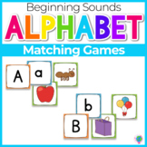 Beginning Sounds- Matching Games