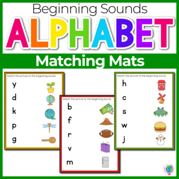 Beginning Sounds- Matching Mats