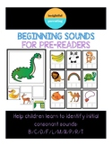 Beginning Sounds Matching Mats