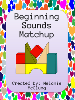 Beginning Sounds Matchup