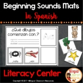 Beginning Sounds Mats In Spanish