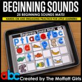 Beginning Sounds Mats (Printable and Google Slide Ready!)