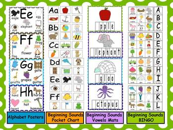 Beginning Sounds Mega Pack