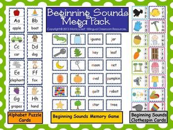 Beginning Sounds Mega Pack