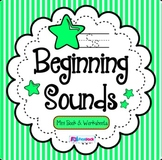 Beginning Sounds Mini Book & Worksheets