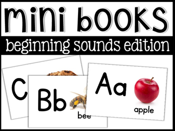 Beginning Sounds Mini Books!
