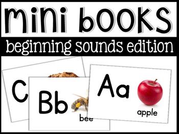 Beginning Sounds Mini Books!