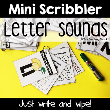 Beginning Sounds Mini Scribblers