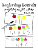 Beginning Sounds Mystery Cards (Dolch Sight Words)