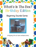 Beginning ABC Letter Sounds Mystery Gift Game What's in the BOX