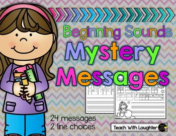 Beginning Sounds Mystery Messages