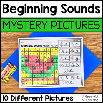 Beginning Sounds Mystery Pictures