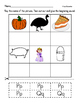 Beginning Sounds p and q- denelian and basic print