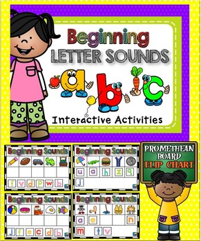 Beginning Sounds PROMETHEAN BOARD Flip Chart