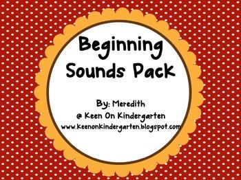 Beginning Sounds Pack