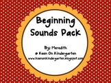 Beginning Sounds Pack