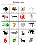 Beginning Sounds Packet
