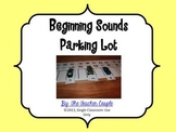 Beginning Sounds Parking Lot