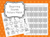 Beginning Sounds Phonics Activity