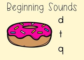 Beginning Sounds Phonics BOOM Cards Digital Task Cards for Kindergarten