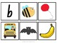 Beginning Sounds - Phonics Pocket Chart Cards in Foundation Font