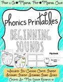 Beginning Sounds - Phonics Printables