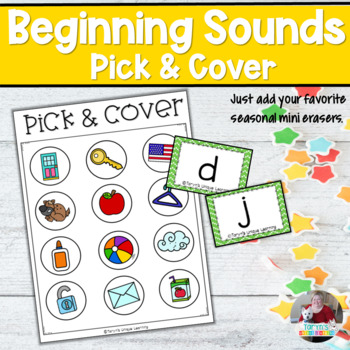 Beginning Sounds- Pick and Cover