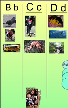 Beginning Sounds Picture Sort (A, B, C, D)