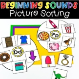Beginning Sounds Picture Sort Letter Activities Phonics Li