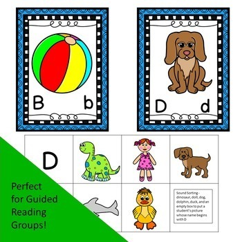 Picture Sorts Beginning Sounds