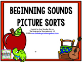 Sounds:  Beginning Sounds Picture Sorts