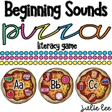 Beginning Sounds Pizza Literacy Center Game