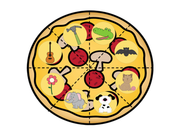 Beginning Sounds Pizzas - A Phonological Awareness Game!