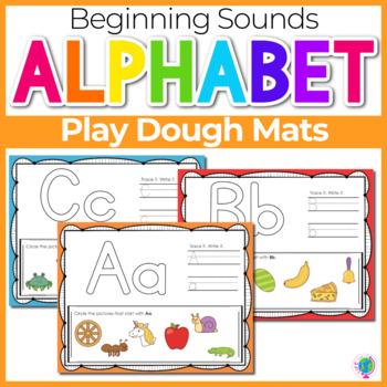 Beginning Sounds- Play Dough Mats