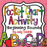 Beginning Sounds Pocket Chart Activities