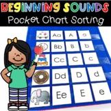 Beginning Sounds Pocket Chart Activities Literacy Center P
