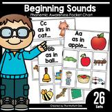 Beginning Sounds Pocket Chart: Phonemic Awareness
