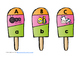 Beginning Sounds Popsicle Puzzles