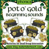 Beginning Sounds - Pot O' Gold