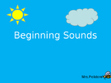 Beginning Sounds Power Point Game