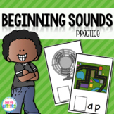 Beginning Sounds Practice - CVC Words