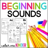 Let's Learn the Alphabet: Beginning Sounds NO PREP Printables