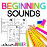 Initial Sounds NO PREP Printables for Pre-K and Kinder