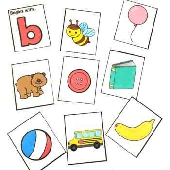 Beginning Sounds: Free