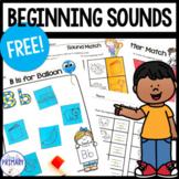 Beginning Sounds: Free